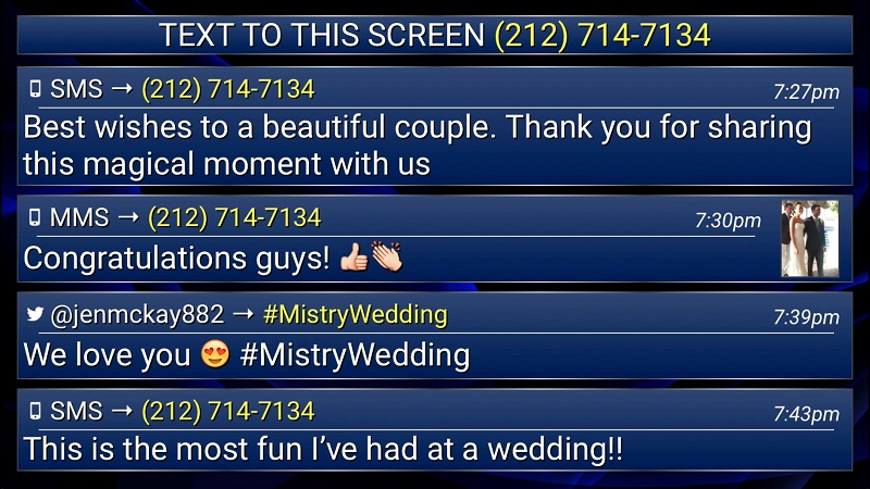 Wedding Chat Screen
